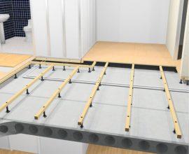 Regla uppför ett jämnt och snyggt golv - Subfloor